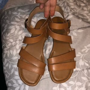 Like new sandals! Worn once!